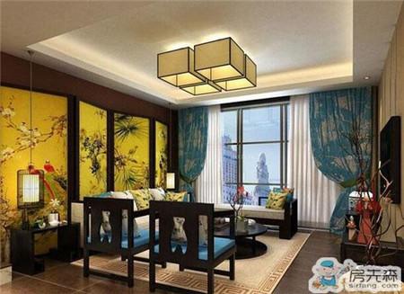 """中式窗帘搭配有""""法""""可依 新中式装修窗帘的搭配"""
