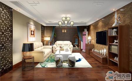 洛阳新房装修中式真漂亮,158㎡气质超群