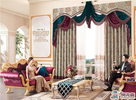 欧式风格窗帘选购搭配技巧 更具有质感