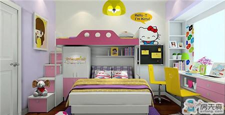 儿童房装修创意收纳 分门别类的归拢