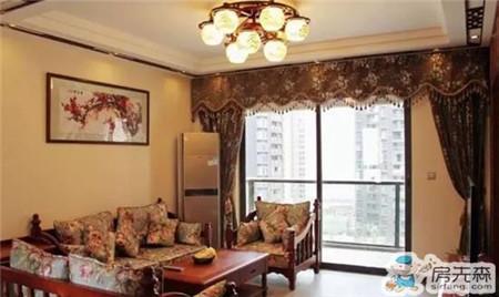 中式客厅窗帘搭配技巧 感受中国传统文化之美