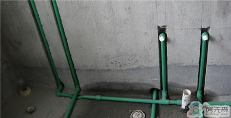 确定管道走向 水管安装轻松搞定