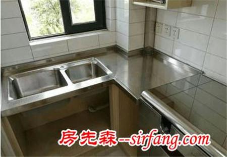 橱柜台面装修用大理石的好还是不锈钢的好?