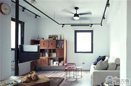 65平轻工业风LOFT公寓装修,耐人寻味
