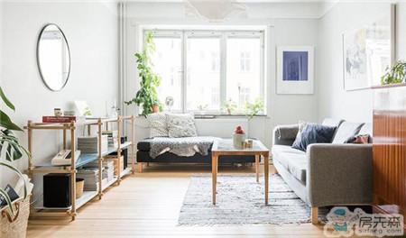 54平清新简约北欧风装修暖宅