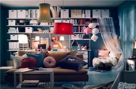 沙发周边空间可以这么利用 我终于开窍
