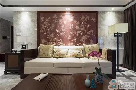 140平中式风格硬装32万,给爸妈一个安静祥和的家