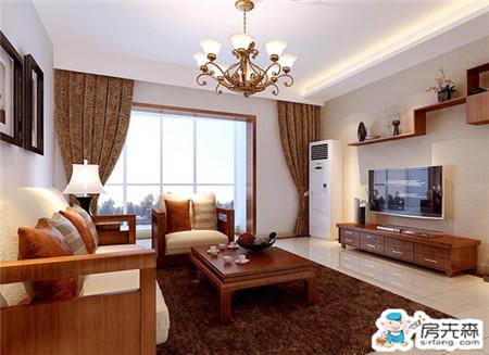 融入现代元素中式居室也潮流 三居室中式装修