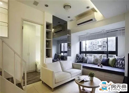 小户型家居装修的一种新方法 交换空间小户型设计