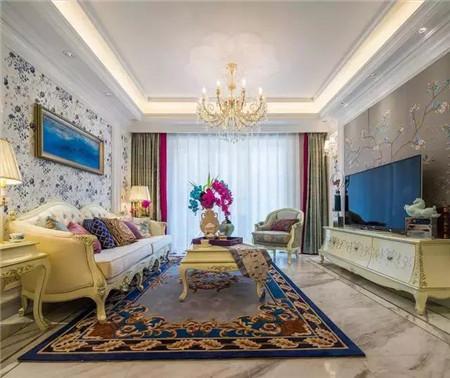 130平欧式婚房,装修非常漂亮,卧室更美!