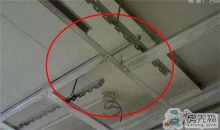家庭装修吊顶工人不这样装,当初错了毁房!