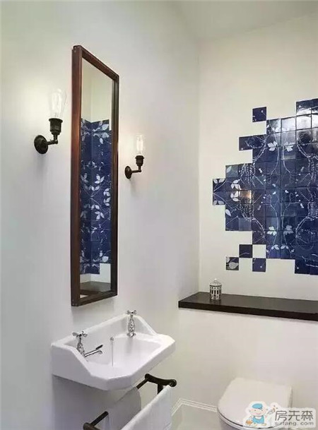 3㎡卫生间嫌小?这样装洗澡刷牙才能两不误