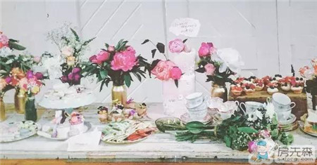 准备结婚的同事,竟把家装成了一幅水彩画!