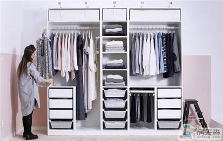 最经典的两套小户型衣柜,第二套肯定要开始流行了
