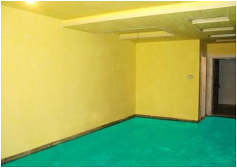 装修中使用黄墙绿地的好处