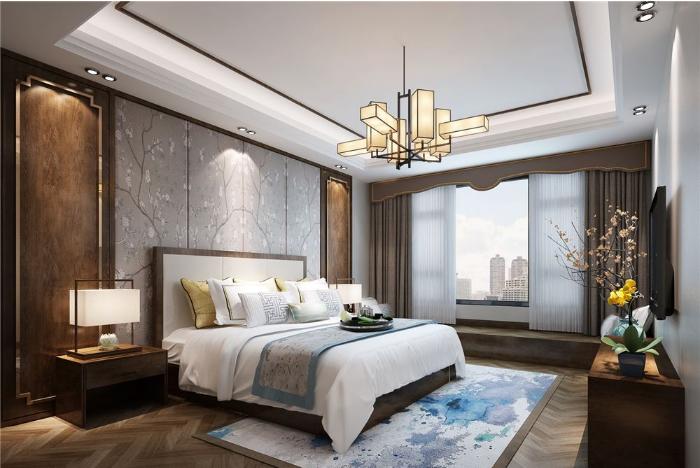 【房先森装修学院】新中式卧室装修怎么做才好看?这几点做好卧室装修全搞定