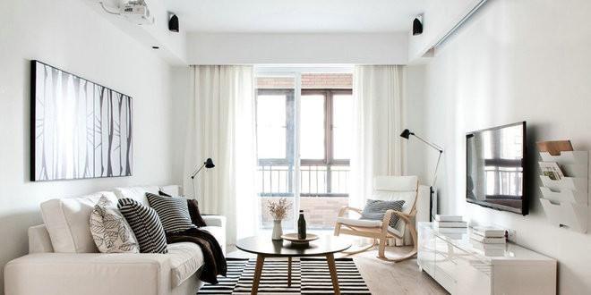 舒适宜家经典黑白配现代风格装修