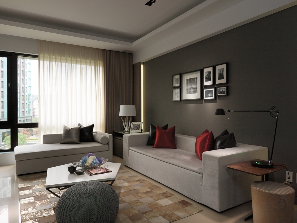 76㎡ 一居室 北欧风格