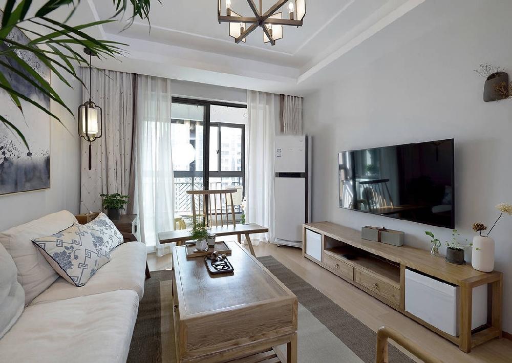 90㎡中式现代二居室