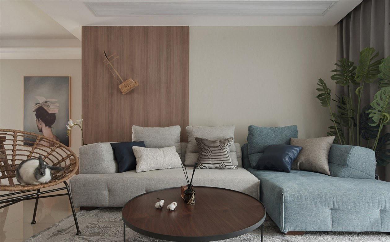 89平北欧风格暖色二居室