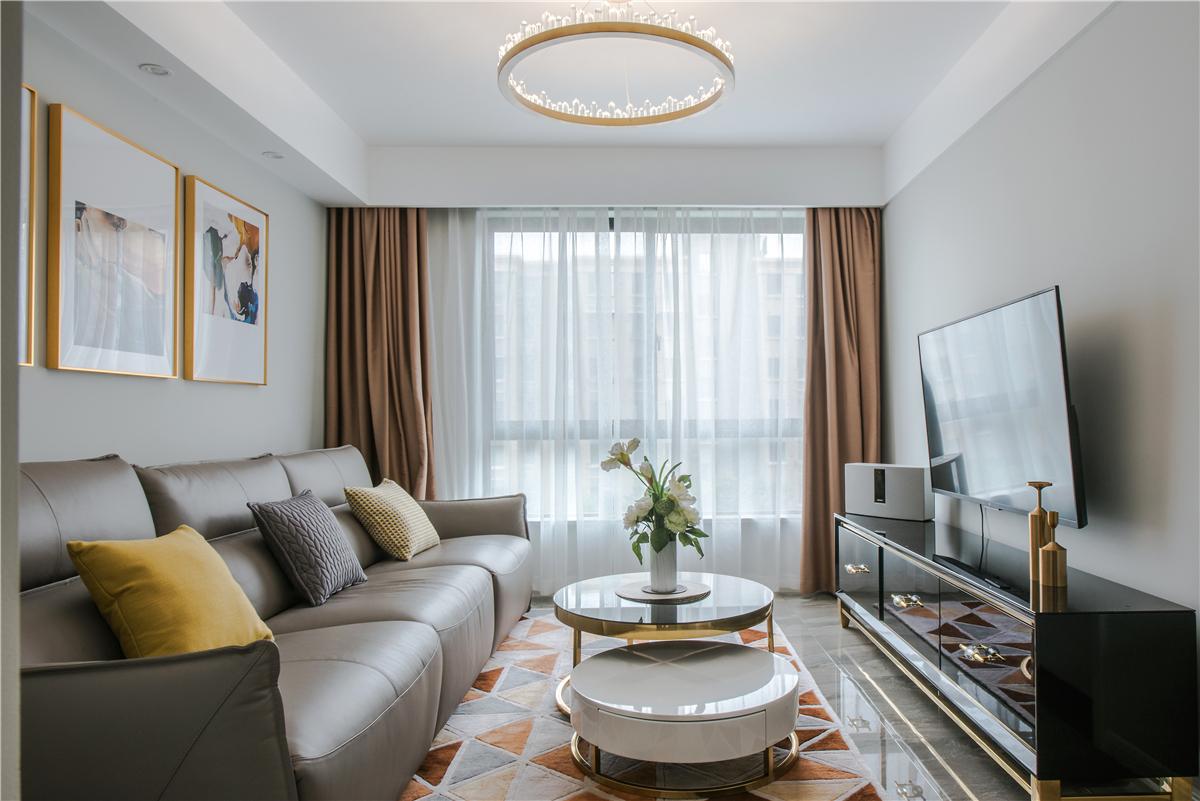 81平现代简约两居室,唯有浪漫与优雅不可辜负二居室