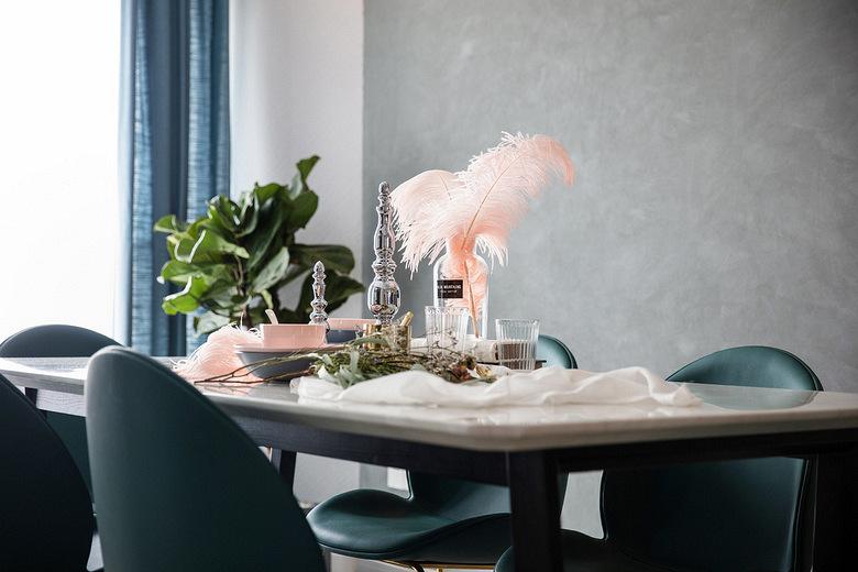 前滩名邸-140-青草味的家-三室两厅现代风