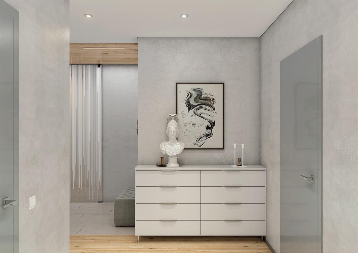 78平二居室原木风格家,让简约更有格调!