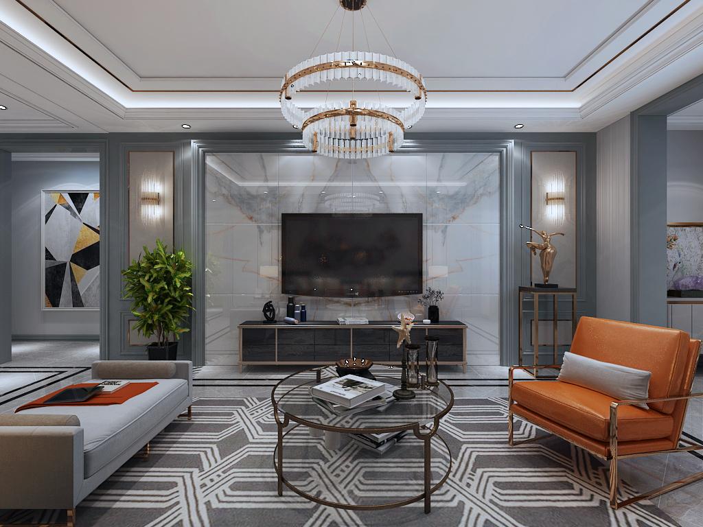 开元名郡107平低调诠释港式优雅三居室