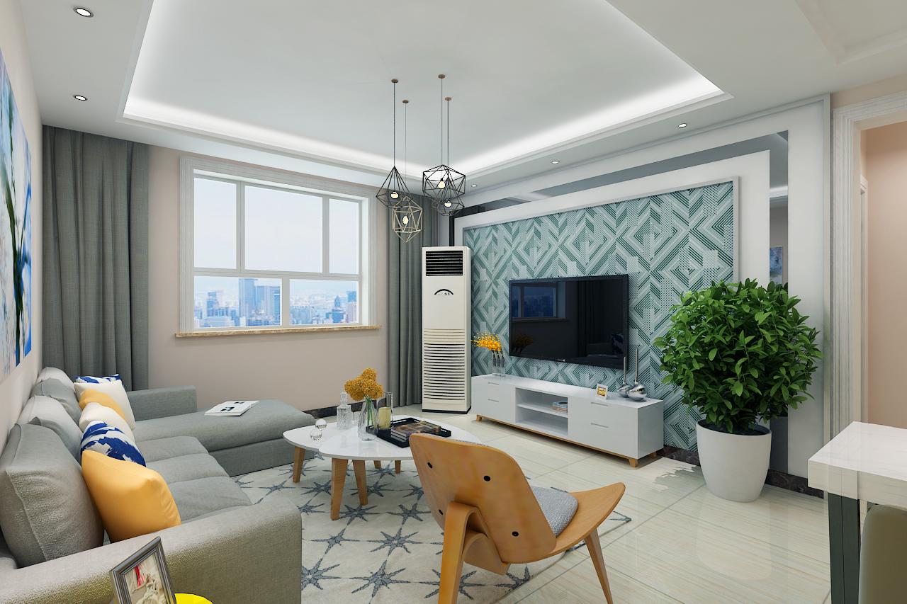 圆梦园-现代简约-108平米二居室