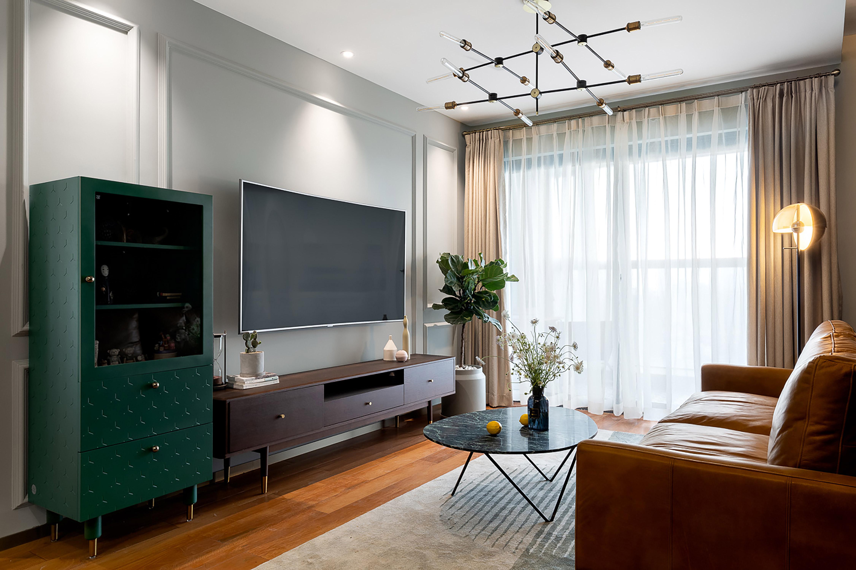 十五家园87平米复古风格二居室