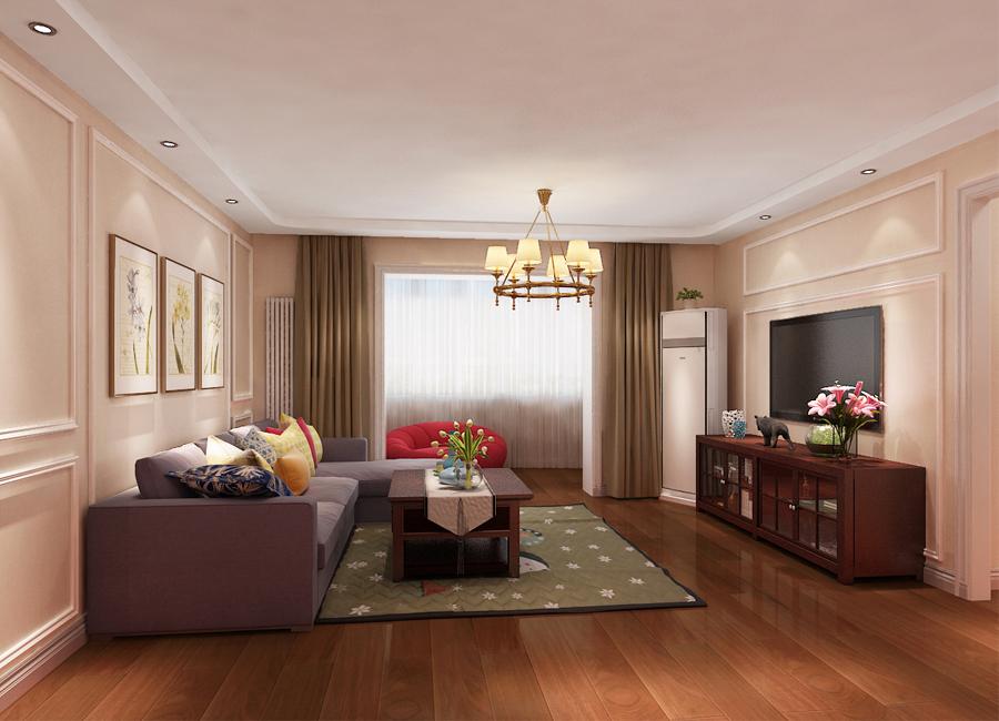 花城名苑99平米简约风格三居室