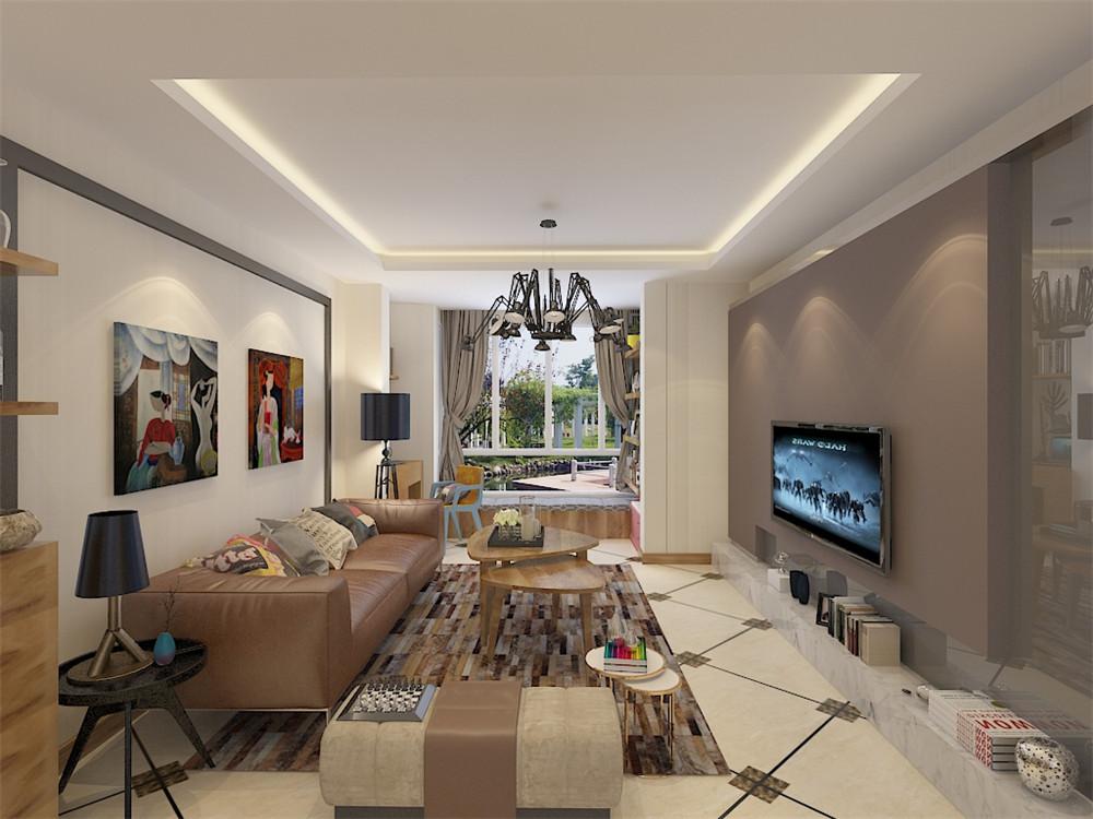 三塘樱园96平2室 现代风格