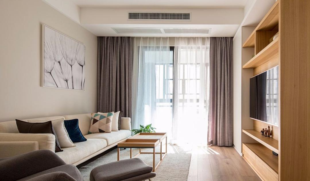 96㎡现代简约,温馨实用三居室