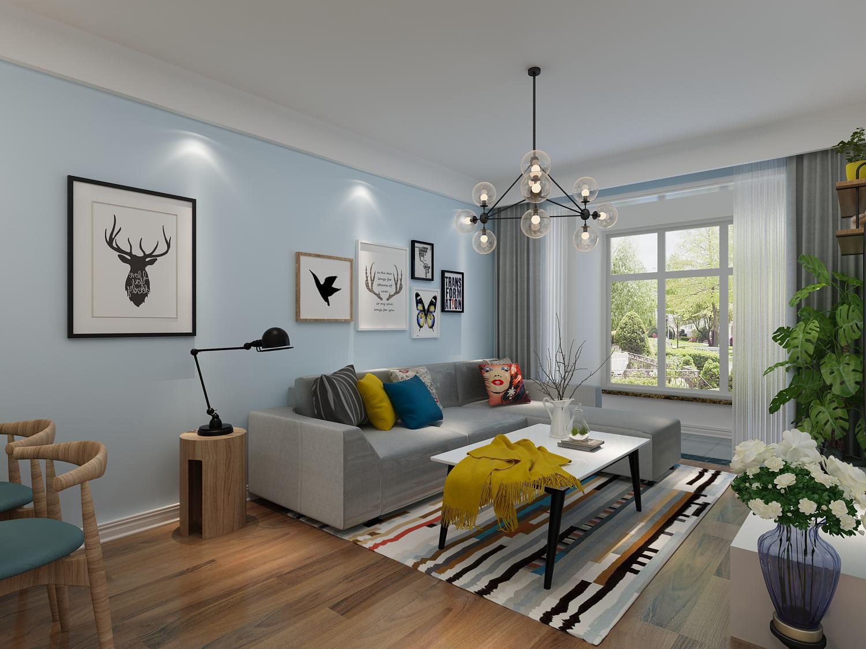 郡望府 99㎡ 现代简约三居室