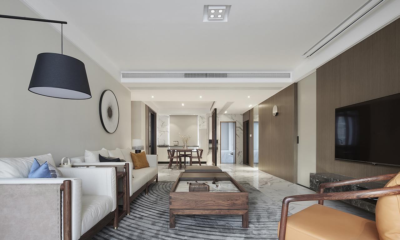 90平现代精致、大气的现代简约温馨小窝三居室