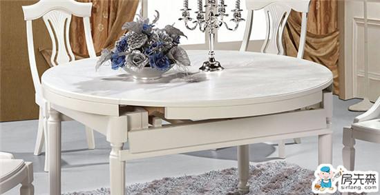 最大限度利用空间 餐厅折叠餐桌推荐