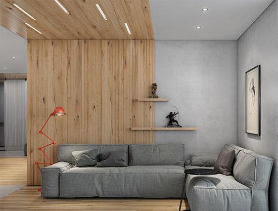 10图原木混凝土 静谧禅意日式风格