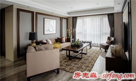 厦门业主独特120㎡中式两室两厅装修效果图