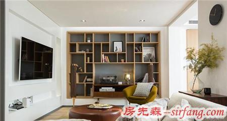 福州博士后官邸120平简约现代两室两厅实景图