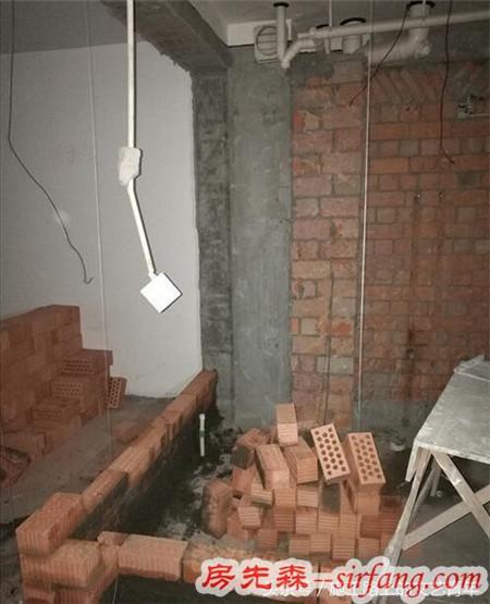 装修砌墙施工隐患多,砌墙时一定要跟装修公司确认这些施工工艺!