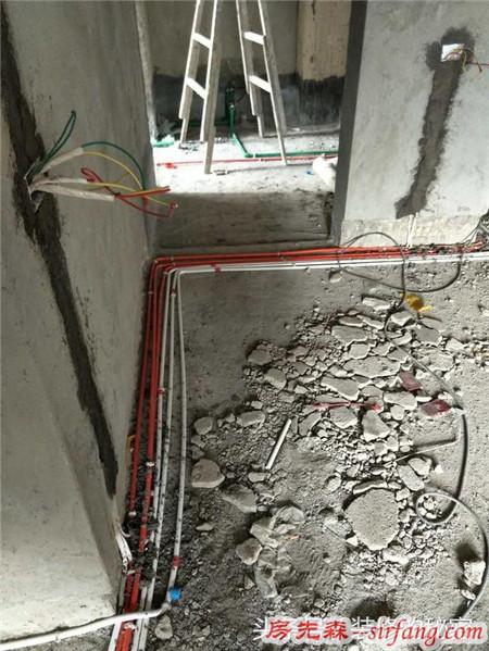 5万装修出来的房子,做完水电就想把它拆掉从新布线!