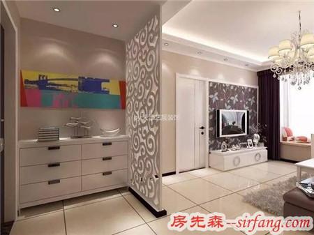 120㎡现代简约三居室装修,餐厅的镜面和装饰很好看