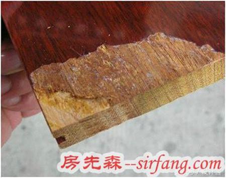 你家里的家具真的是实木的吗?撬开自家的实木地板才发现被坑了