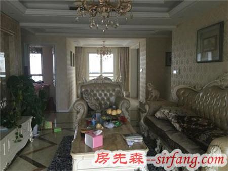 120平欧式风格装修只需11.8万,越看越喜欢我家客厅!