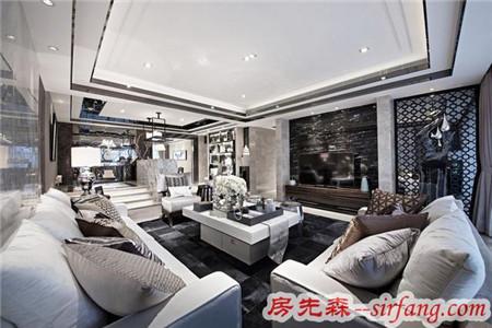 电视背景墙装修效果图,让你家的客厅提升10个档次