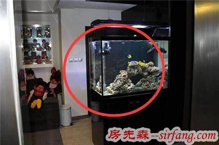 新房装修在玄关鞋柜放鱼缸,老师傅说摆对了财神到来,摆错犯煞!