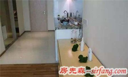 50㎡韩式装修风格,卧室装在客厅里还挺好看的!