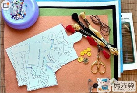 教你自制针线包 贤妻们的针线可以正确收纳了