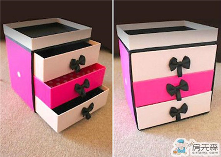 饼干盒太变身  这样个收纳盒你认出是饼干盒做的吗