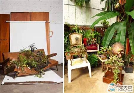 废弃家具这样做 超有创意